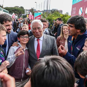 Portuguese Prime-Minister loves the spirit of rugby