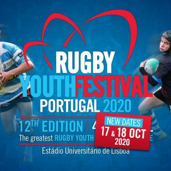 Portugal Rugby Youth Festival postponed to October 17-18