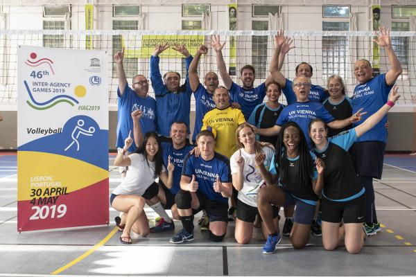 UN's 46th Inter-Agency Games